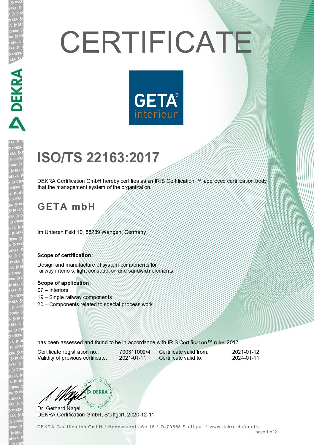 ISO/TS 22163_2017